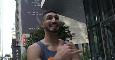 Enes Kanter Says He's Thinking About Getting an American Name