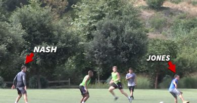 Steve Nash and Cobi Jones Ball Out In Rec League Soccer Game
